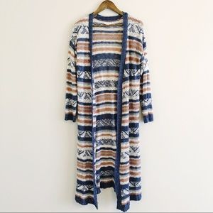 Xhilaration | loose knit full length duster XXL